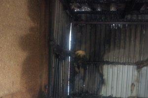 В Киеве дотла сгорела парикмахерская