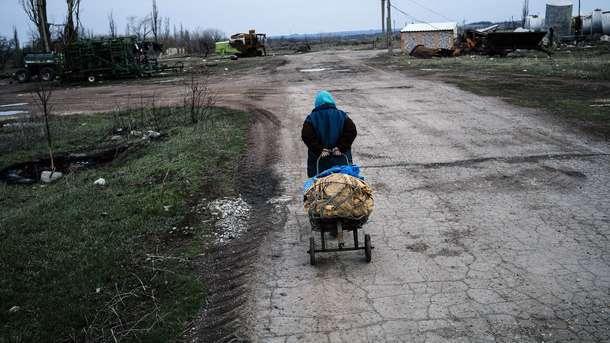 Боевики обстреляли беспилотник ОБСЕ около луганского аэропорта