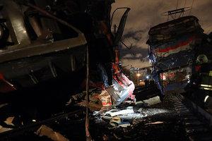 Столкновение поездов в Москве произошло из-за перебегающего пути человека - СМИ