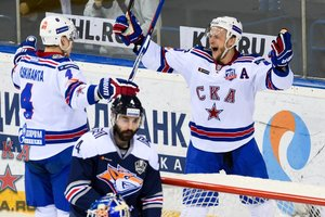 СКА выиграл первый поединок финала Кубка Гагарина