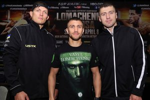 Менеджер хочет, чтобы Ломаченко сменил категорию, а Гвоздик и Усик дрались с чемпионами