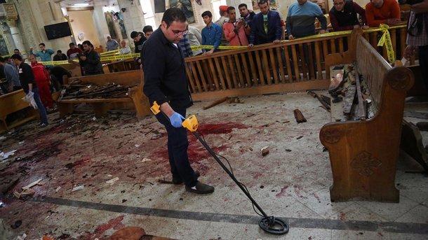 Теракты вВербное воскресенье вЕгипте: 44 христианина погибли вхрамах
