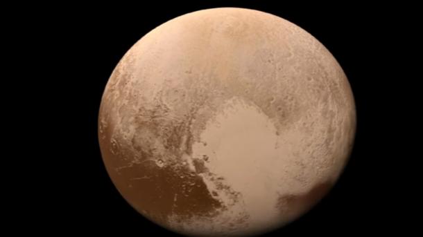 Ученые изсоедененных штатов определили состав истроение атмосферы Плутона
