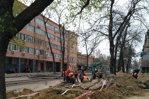 Как идет ремонт в центре Одессы