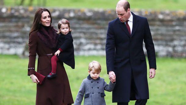 Принц Джордж ипринцесса Шарлотта примут участие всвадебной церемонии Пиппы Миддлтон