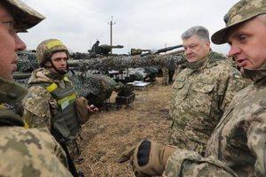Порошенко: Украинские танкисты могут сокрушить российских оккупантов