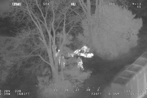 Канадская полиция послала вертолеты, чтобы поймать похитителей конфет
