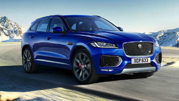Jaguar F-Pace. Фото из открытых источников
