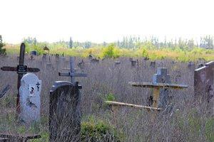 В Донецке запретили посещать кладбища