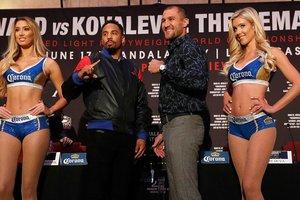 Российский боксер Сергей Ковалев заявил, что даже пьяным победит Андре Уорда