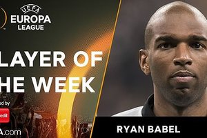 Лучшим игроком недели в Лиге Европы признан футболист проигравшей команды