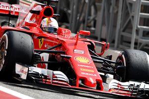 Феттель выиграл первую практику Гран-при Бахрейна