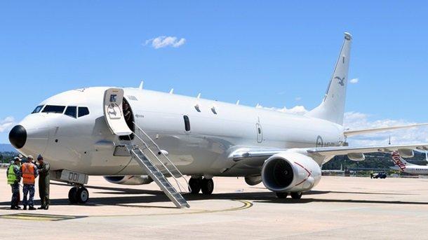 Самолет ВМС США провел оперативную разведку вблизи Крыма