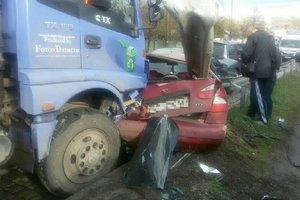В Харькове произошло серьезное ДТП