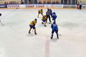 Юниорская сборная Украины с победы начала выступления на чемпионате мира