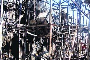 В полиции назвали причину масштабного пожара в Одессе