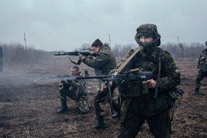 Боевики под Водяным били из гранатометов по украинским морпехам