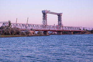 В Затоке починят подъемный ж/д мост