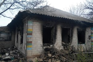 Два человека погибли в огне в Днепропетровской области