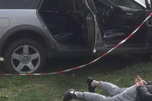В Киеве с погоней поймали разбойников, напавших на заправку