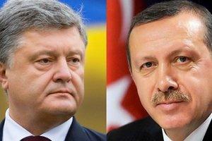 Порошенко созвонился с Эрдоганом: подробности разговора