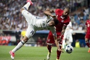 """""""Реал"""" - """"Бавария"""": яркие кадры битвы за полуфинал ЛЧ в Мадриде"""