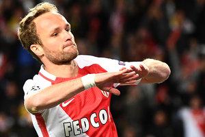 """Игрок """"Монако"""" забил самый быстрый гол в текущей Лиге чемпионов после выхода на замену"""