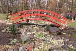 В Киеве появился новый японский мостик