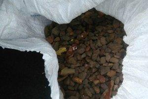 В Ровенской области задержали  большую партию янтаря