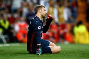 """Вратарь """"Баварии"""" Нойер из-за перелома ноги выбыл до конца сезона"""