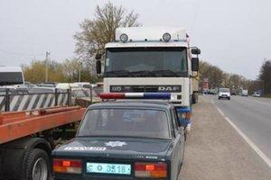 В Тернопольской области две фуры с львовским мусором отправили на штрафплощадку
