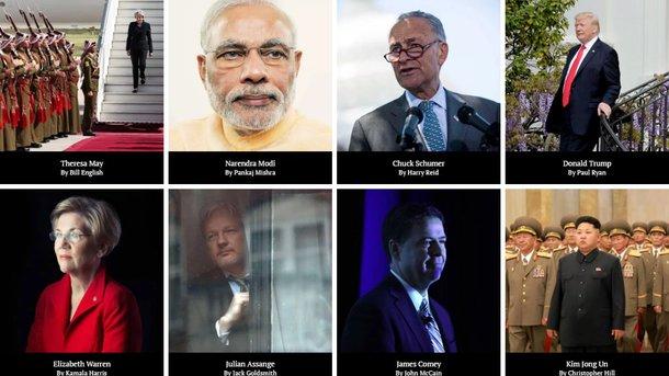 Путин вошел всписок самых влиятельных людей мира поверсии Time