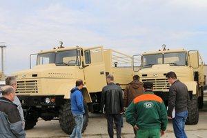 Украинские автомобили отправят в Африку