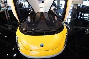 В Монако показали летающие автомобили
