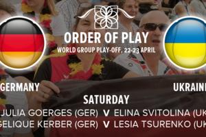 Элина Свитолина и Юлия Гергес откроют матч Кубка Федерации