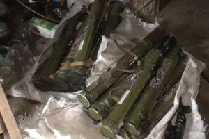 Житель Запорожья сдал полицейским 15 гранатометов