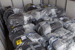 Канадские моряки перехватили свыше тонны кокаина