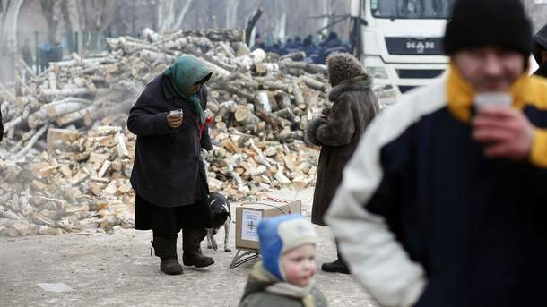 ВМарьинке впроцессе обстрела ранен местный гражданин