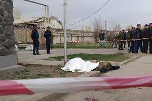 Появилось видео с места убийства российского солдата в Армении