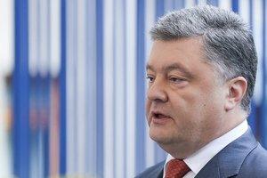 Порошенко отреагировал на подрыв авто миссии ОБСЕ на Донбассе