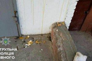 В Ровно забросали яйцами памятную доску Героя Небесной Сотни