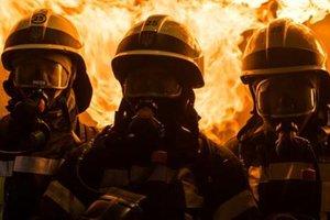 В центре Киева горел заброшенный дом