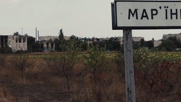 Боевики обстреляли жилые кварталы Марьинки— штаб АТО