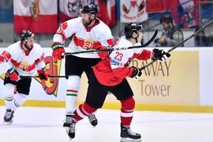 ЧМ по хоккею в Киеве: Австрия обыграла Венгрию