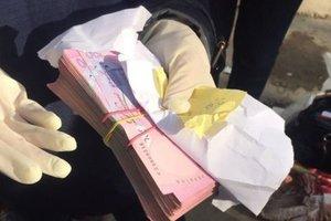 Во Львове задержали женщину-налоговика с сумкой денег