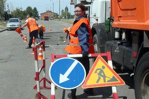 В Киеве – ремонт дорог: где в ближайшие дни перекроют движение