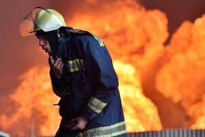 В Днепропетровской области на пожаре погиб мужчина