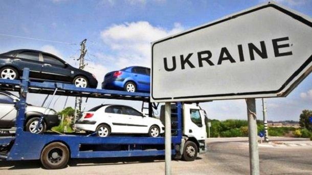 Импорт автомобилей вУкраину вырос вполтора раза