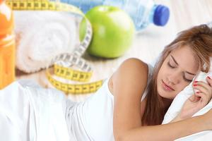 Как похудеть во время сна: восемь полезных советов