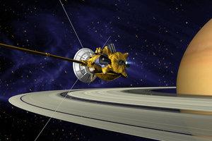 Зонд NASA приступил к заключительному этапу исследования Сатурна